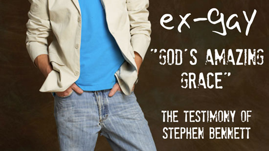 God's Amazing Grace - The Testimony of Stephen Bennett